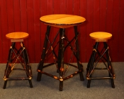 24in Bar Table and Stools