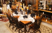 Amish Made Table Distressed