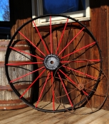 Tall Metal Wheel